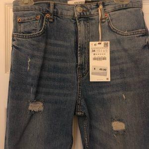Zara Ankle jeans size 2